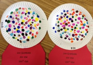 100 days of school ideas for kindergarten